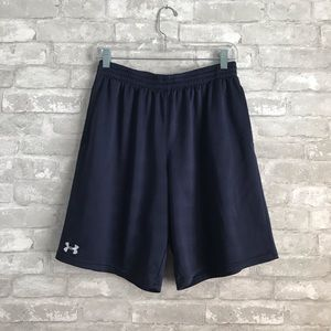 Under Armour Men's Navy Athletic Long Short